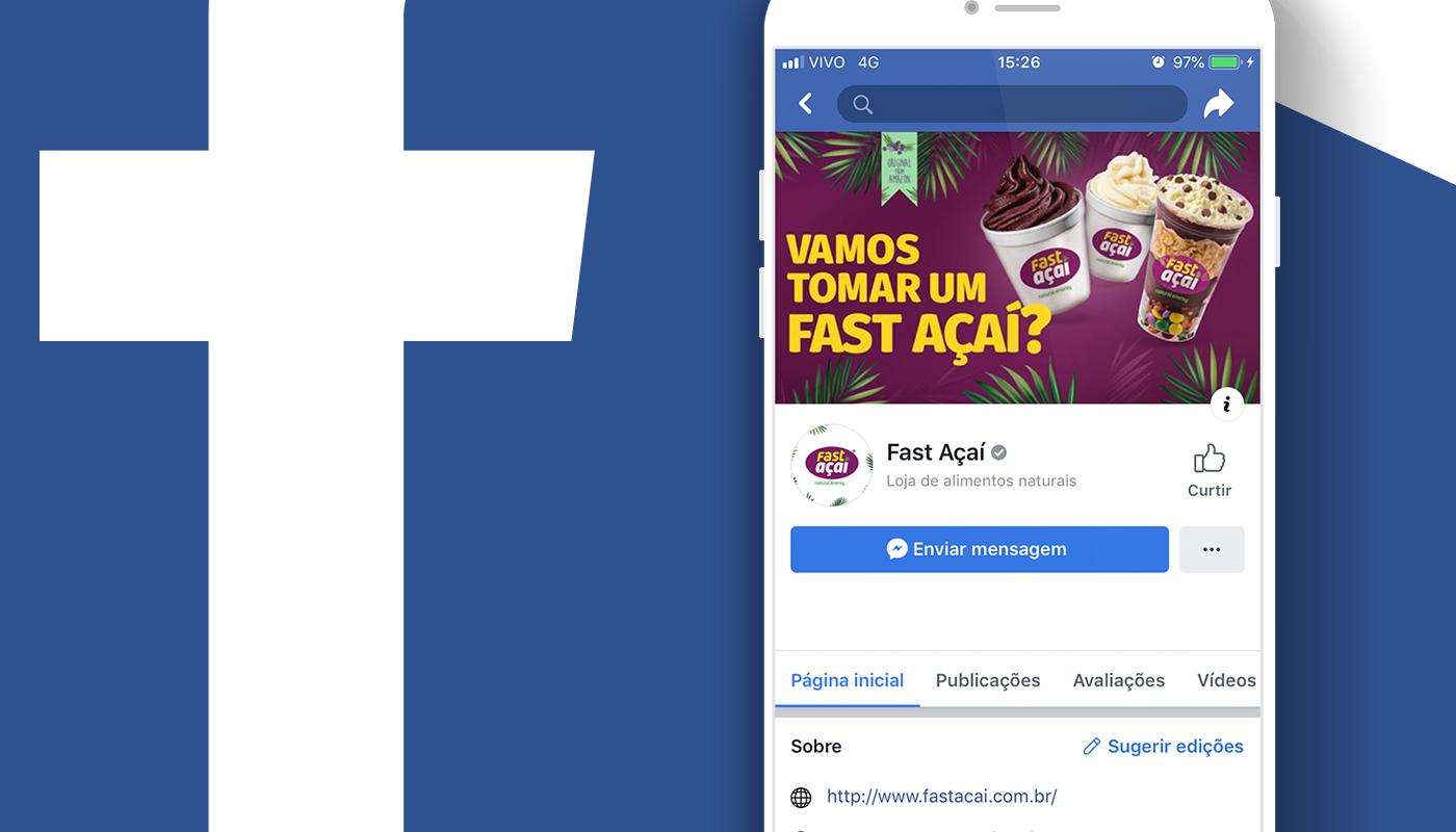Fast Açaí Facebook