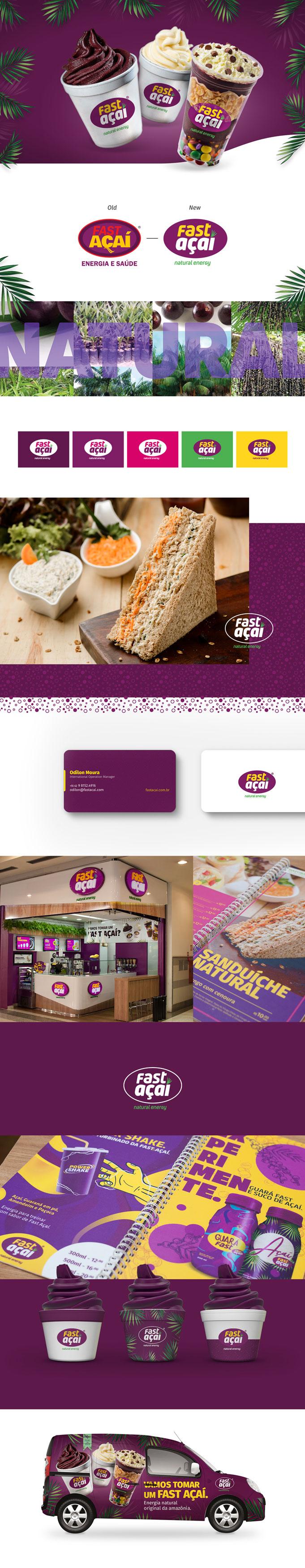 Fast Açaí Rebranding